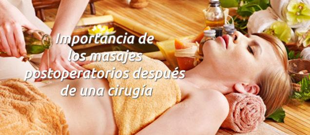 Importancia de los masajes postoperatorios después de una cirugía